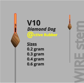 Vespe Rubber pole floats V10 wire